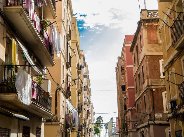 Sant Carles, Barcelona streets