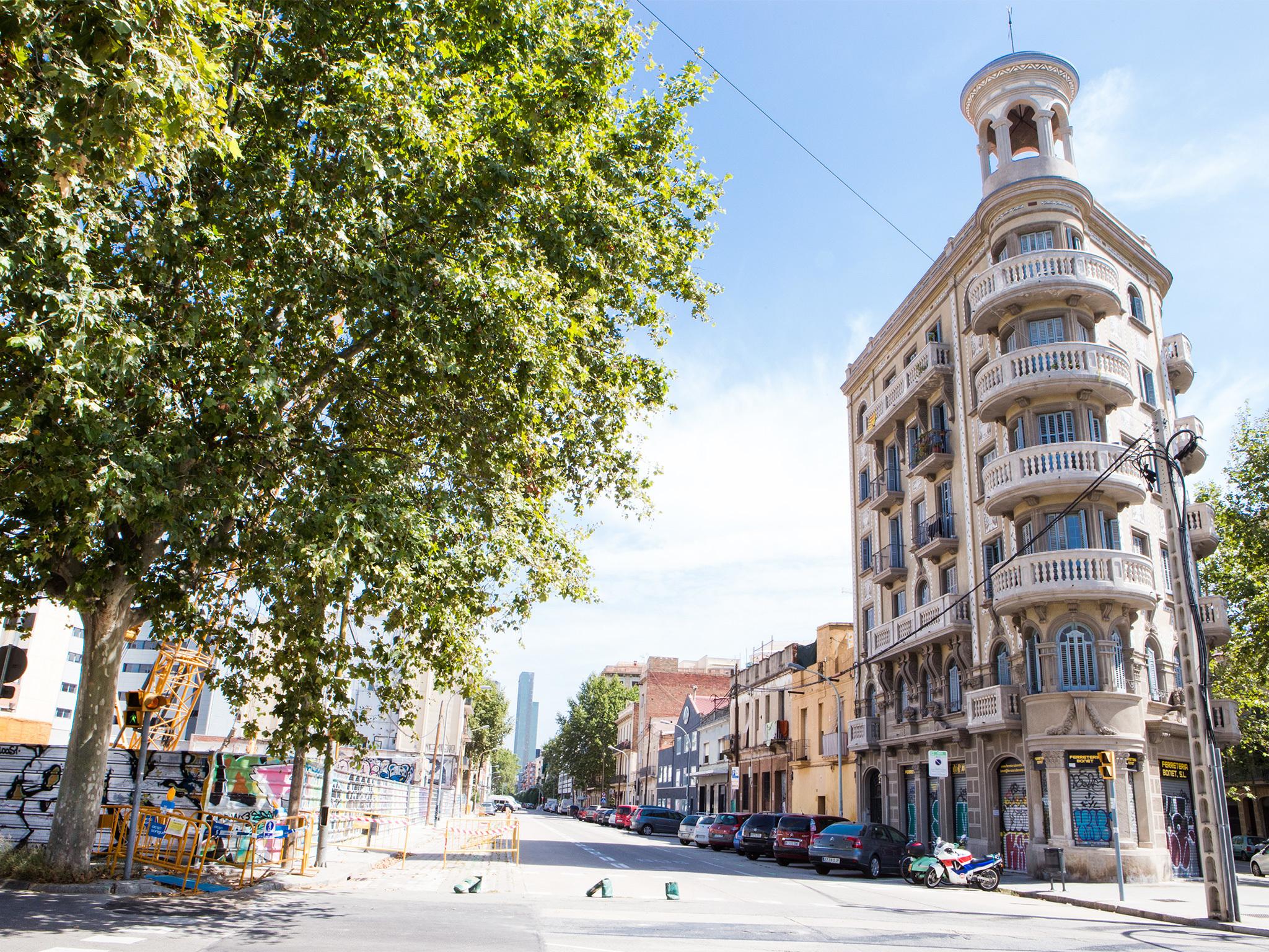Pere IV, Barcelona streets