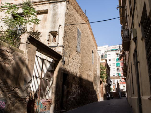 Arc de Sant Sever, Barcelona streets