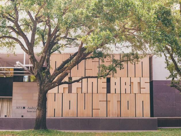 The Museum of Fine Arts, Houston, Texas