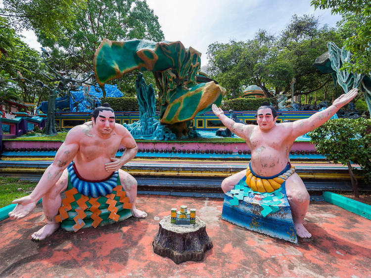 Experience the mythological Ten Courts of Hell at Haw Par Villa