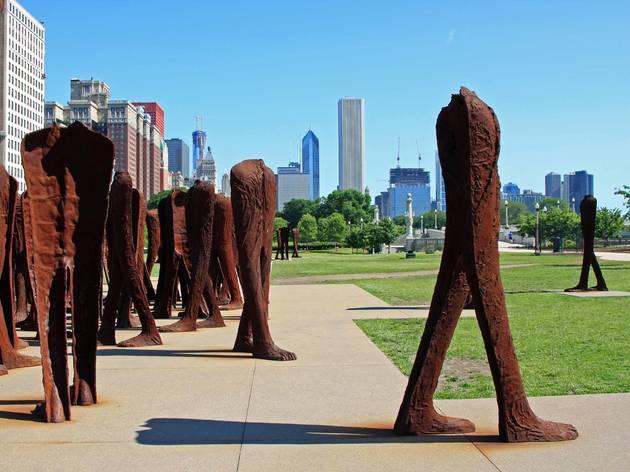 Agora sculture Grant Park