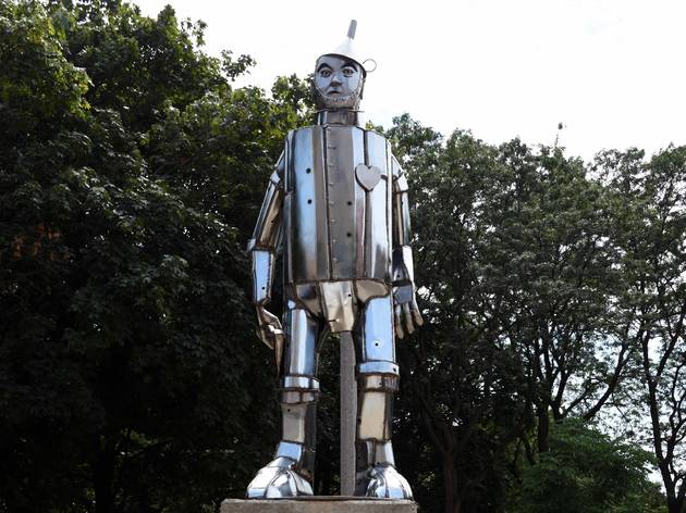 oz park tin man