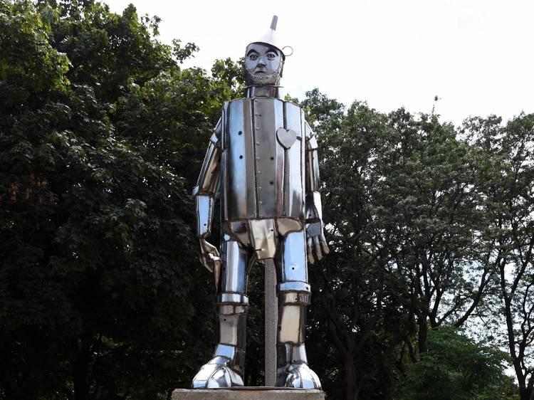 Oz Park sculptures