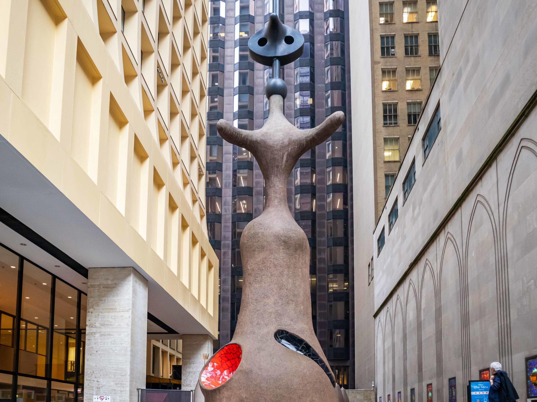miro sculpture Chicago