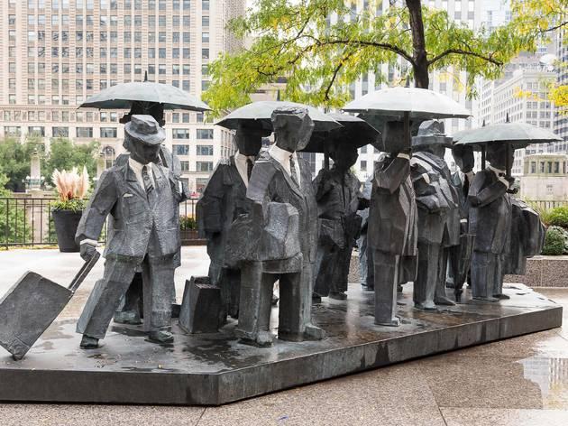 The Gentlemen statue