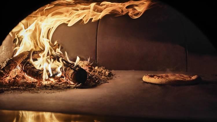 Pizza en Fokacha