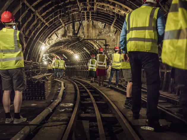 Mail Rail tunnels
