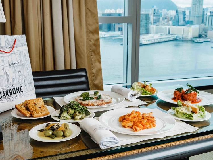 World Delivered staycation at Four Seasons Hotel with Black Sheep Restaurants
