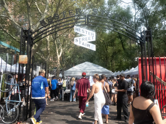 Hester Street Fair, New York City