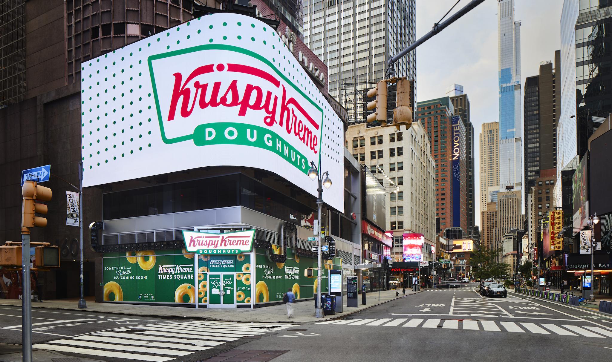 Krispy Kreme is releasing an exclusive doughnut to celebrate Broadway's reopening