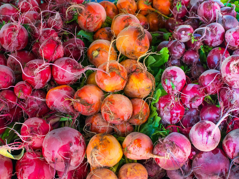 farmer's market, beets
