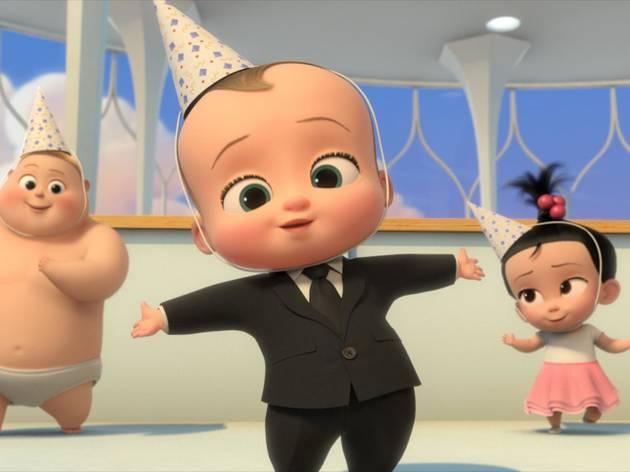 Un jefe en pañales: ¡Atrapa al bebé!
