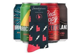 Brick Lane beer cans