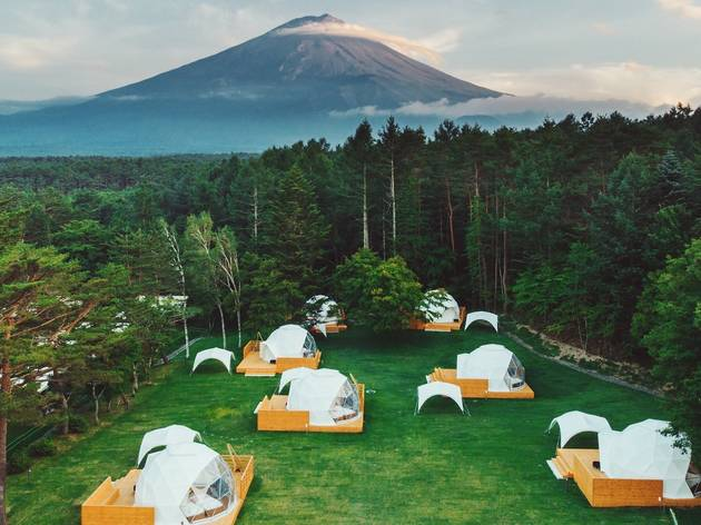 The best places to go glamping in Japan