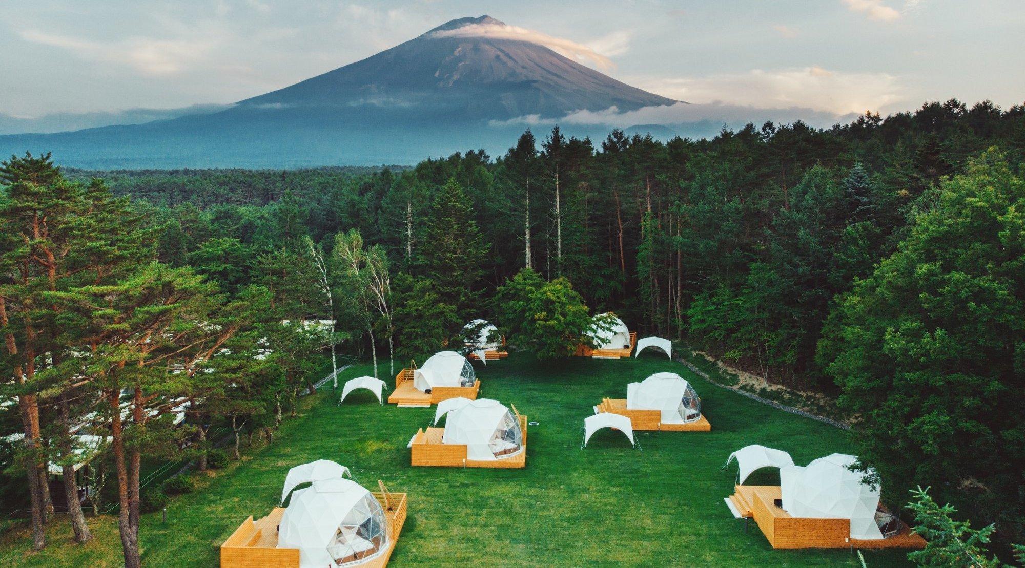 PICA Fujiyama, glamping, Mt Fuji
