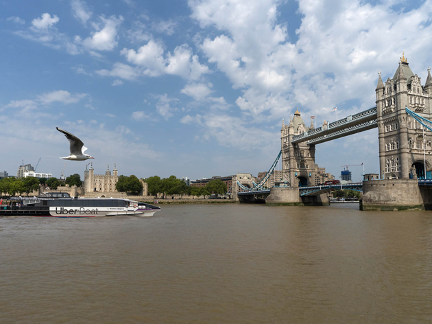(Uber Boat by Thames Clippers)
