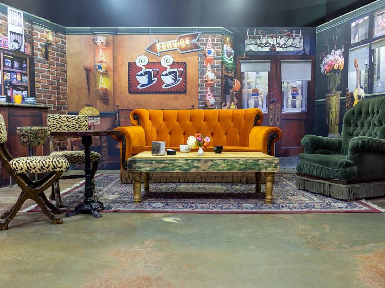 "Tour a ""Friends""-themed interactive exhibit"