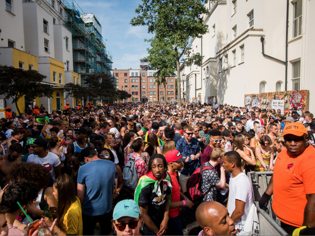 Photograph: Notting Hill Carnival 2017
