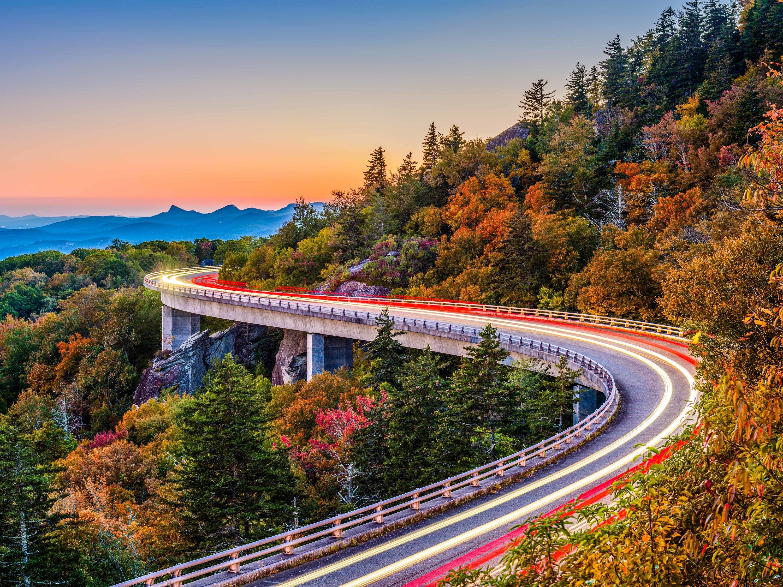 Blueridge North Carolina, fall foliage