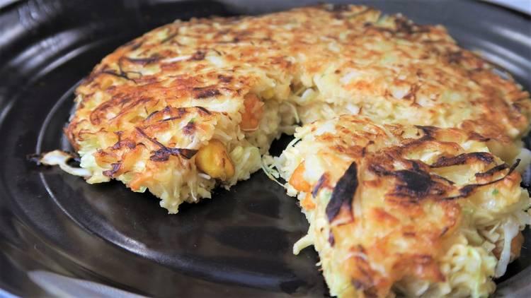 cup noodle okonomiyaki Nissin