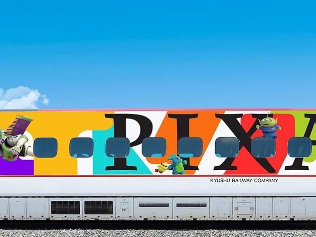 JR Kyushu - Pixar shinkansen, bullet train