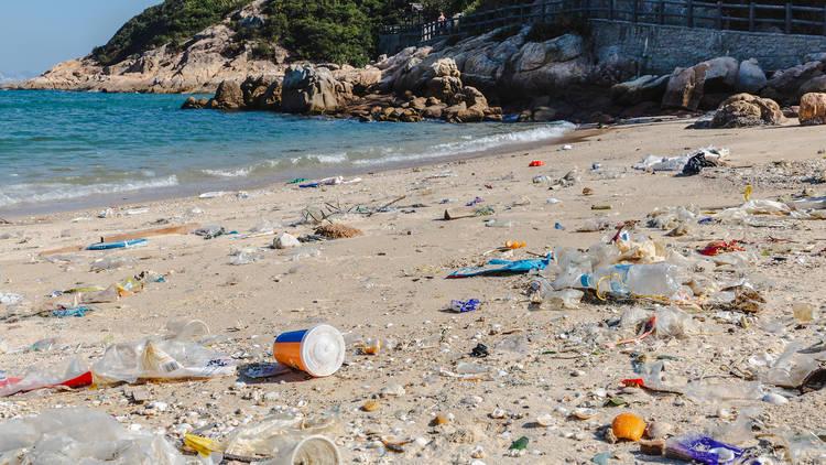 Hong Kong waste pollution