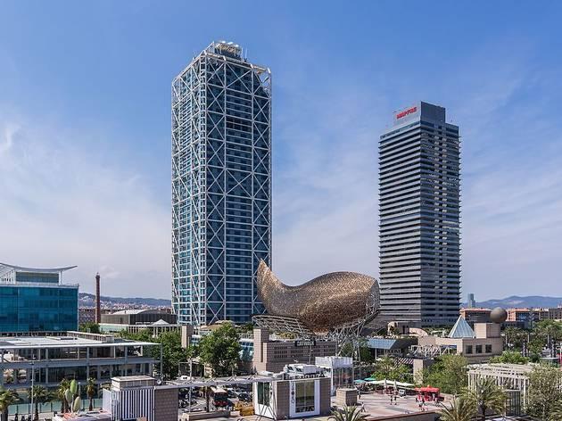 Torre Mapfre i Hotel Arts, al Port Olímpic