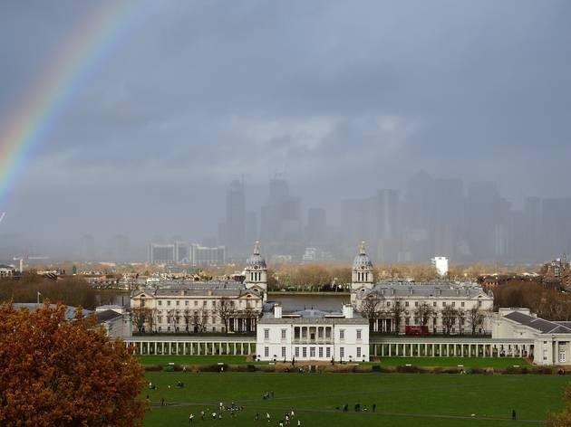 greenwich london rainbow