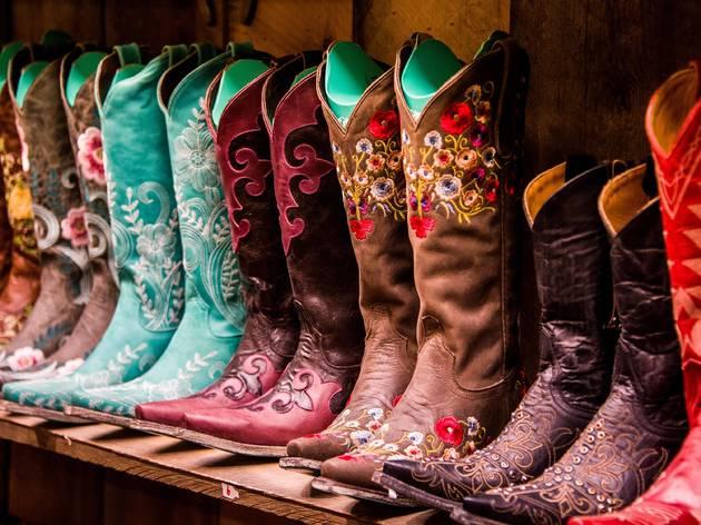 Cowboy Boots, Shelf