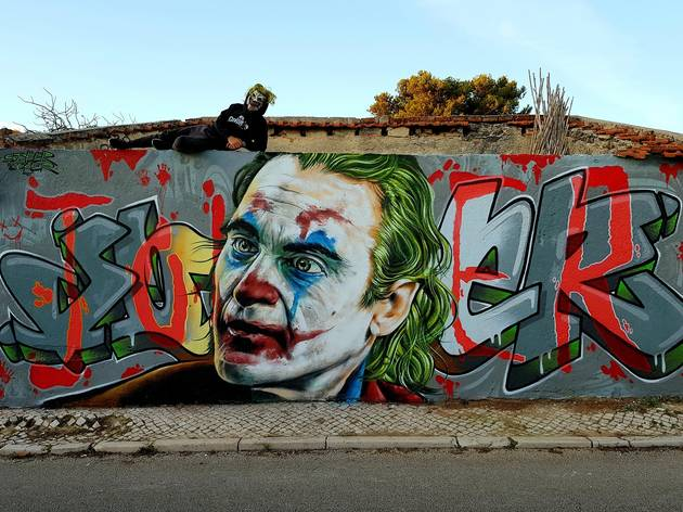 arte urbana em Sintra