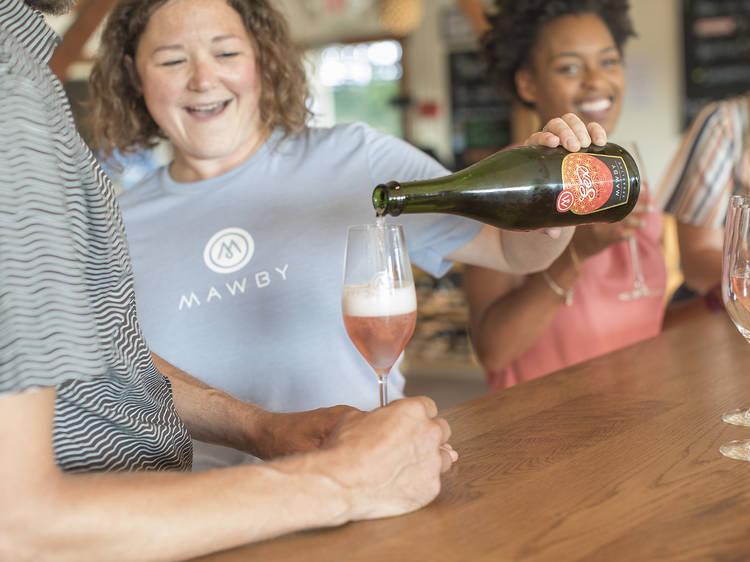 Suttons Bay, MI: MAWBY Vineyards