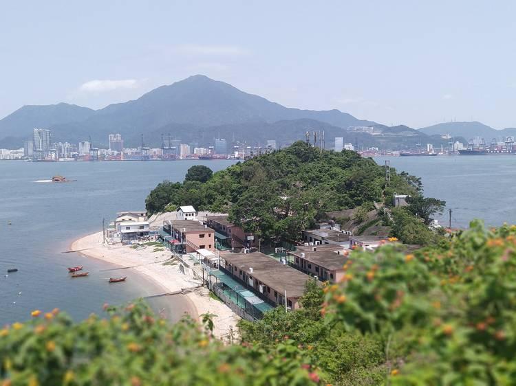 Ap Chau: smallest inhabited island