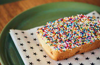 Strings of Life SOL fairy bread Aussie cafe