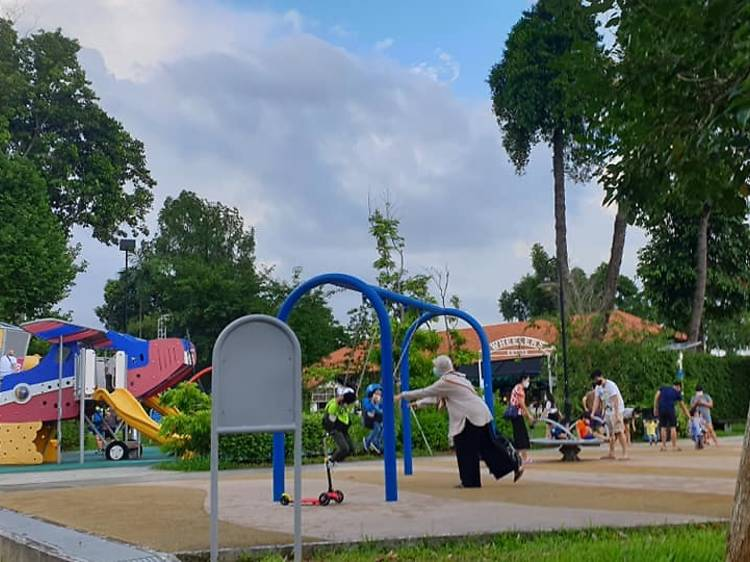 The Oval at Seletar Aerospace Park