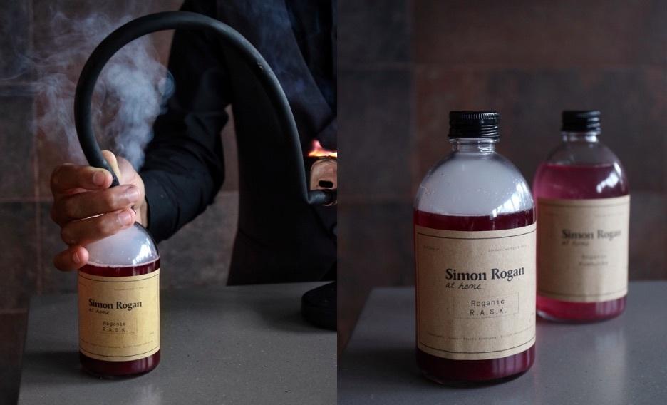 Roganic r.a.s.k bottled cocktail