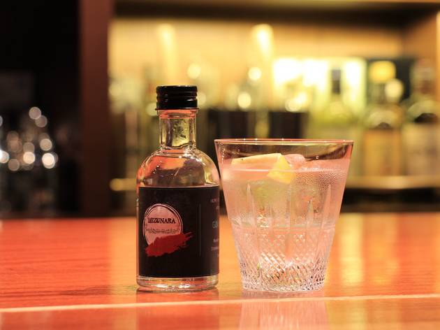 Mizunara: The Library bottled cocktail