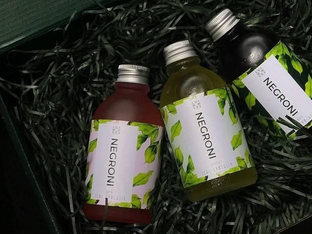Tell Camellia Negroni Gift Box
