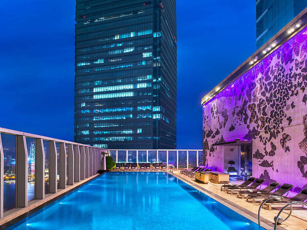 The most beautiful hotel pools in Hong Kong