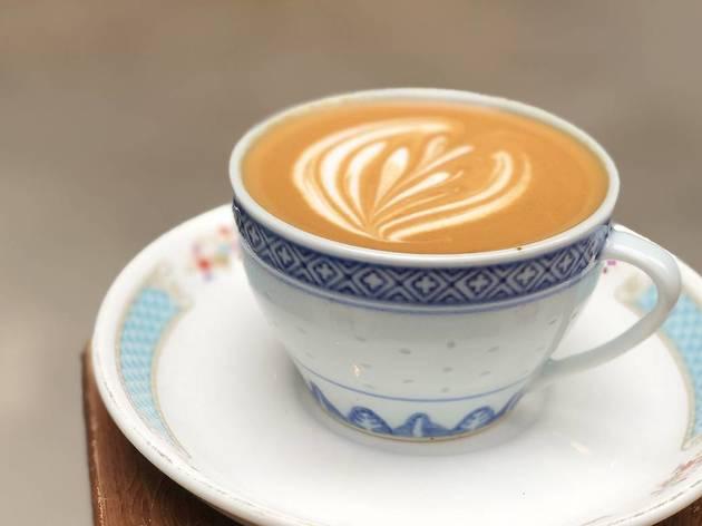 Halfway Coffee Sheung Wan - Okinawan coffee
