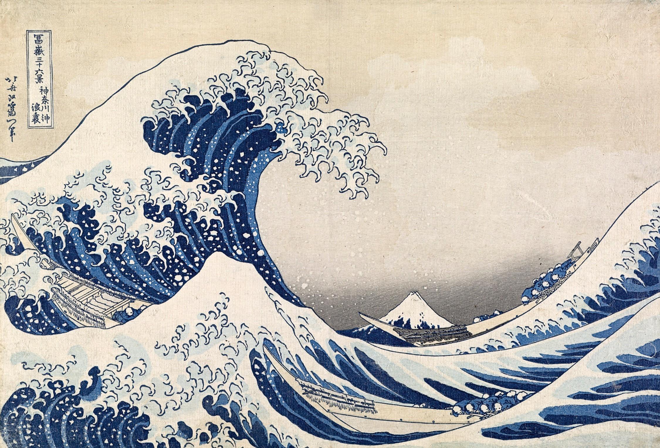 葛飾北斎の失われた作品が、大英博物館のオンラインで公開
