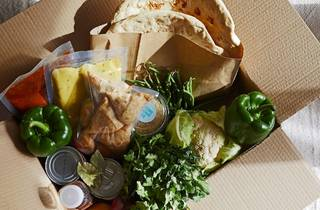 kit de comida del huerto