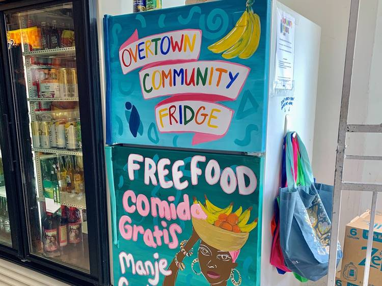 The Miamians setting up fridges filled with free food for hungry neighbors