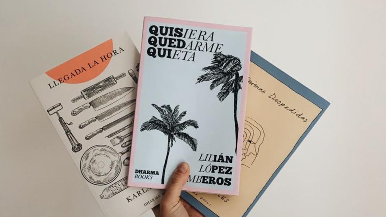 Portada de tres libros Dharma Books Publishing