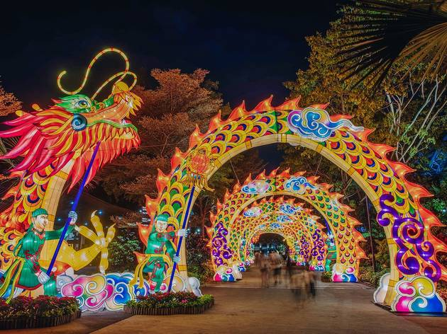 Gardens by the Bay, Mid-Autumn Festival 2019