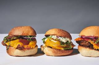 hamburguesas sliders con pollo