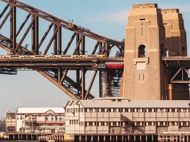 Sydney Harbour Bridge pylon