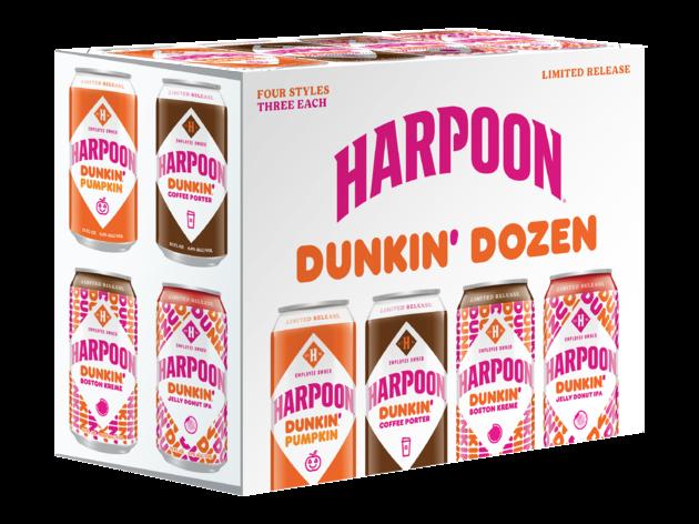 Harpoon + Dunkin'