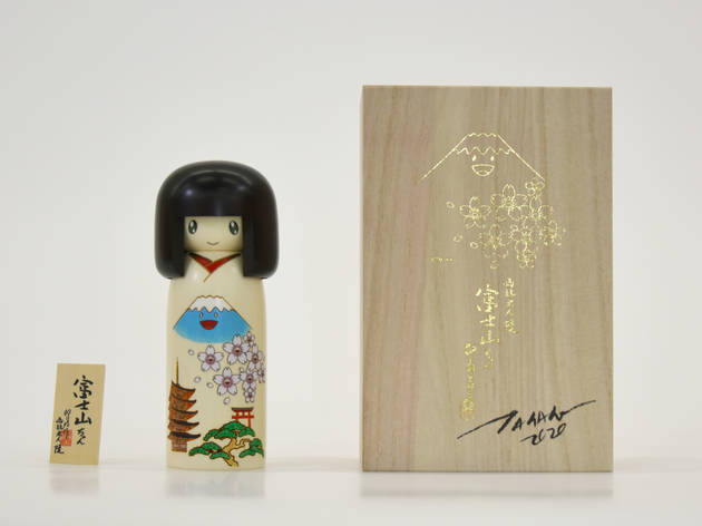 卯三郎こけし『富士山ちゃん』 ©Takashi Murakami/ Kaikai Kiki Co., Ltd. All Rights Reserved.