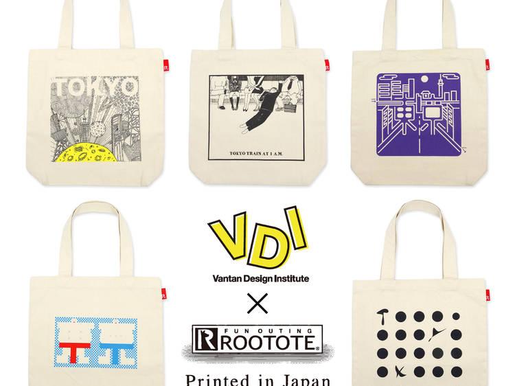 【東京】Vantan Design Institute × ROOTOTE